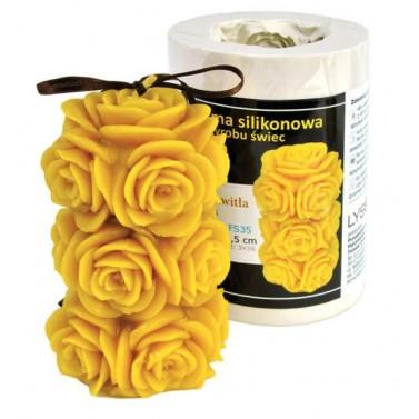 Wspaniały Forma silikonowa - Przekwitła róża - Sklep pszczelarski: miodarki MJ09